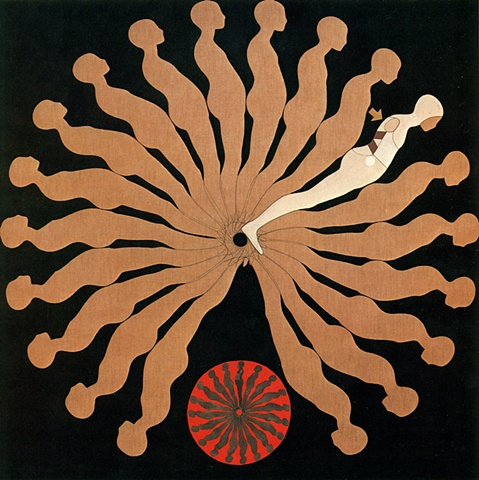Study/Falling Man # 25, 1963
