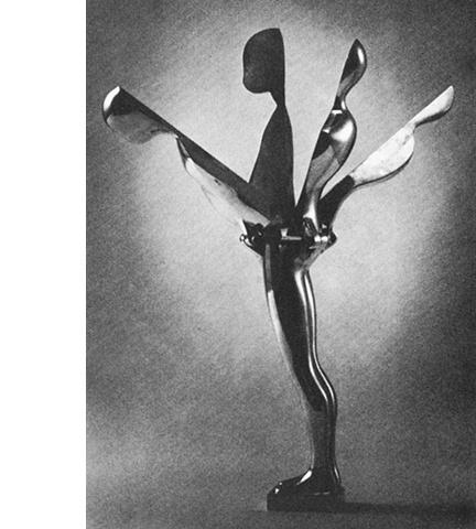 Study/Falling Man (Flowerman), 1969
