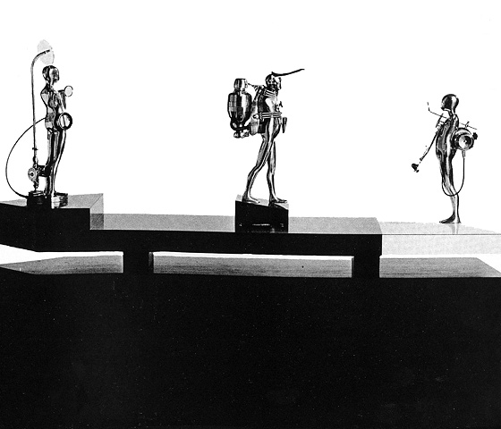 Study/Falling Man (Three Figures), 1964