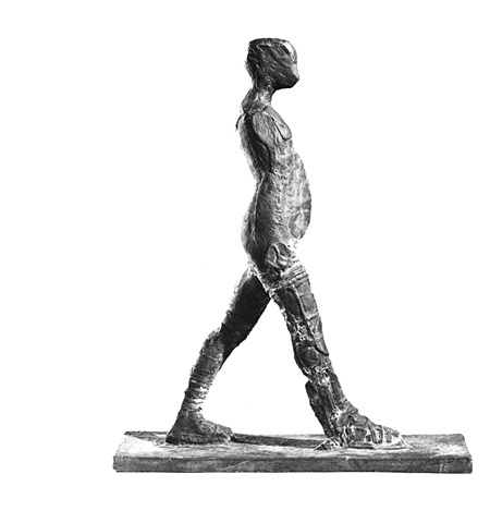 Bronze Poet #1 (Walking Man), 1983