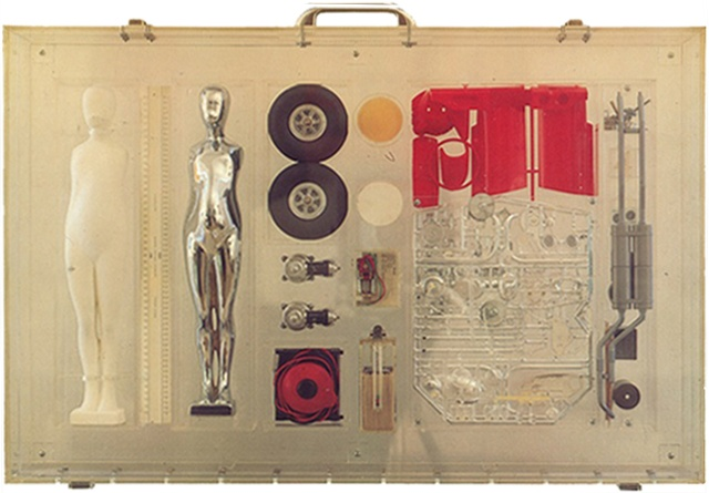 Study/Falling Man (Car Kit), 1964