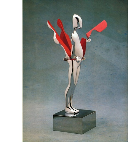 Study/Falling Man (Five-Hinged Flowerman), 1970