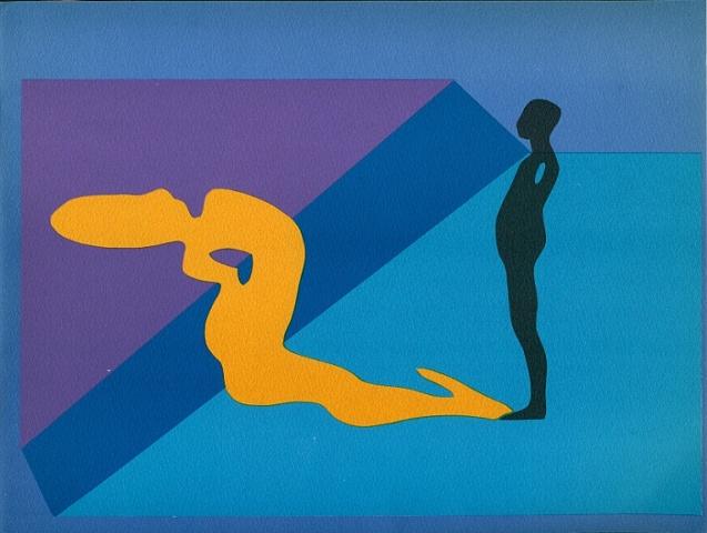 Study/Falling Man, 1970