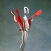 Study/Falling Man (Five-Hinged Flowerman), 1970
