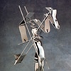 Study/Falling Man (New Cut Figure #2), 1985
