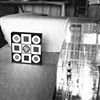 Polaroid of work in progress, circa 1965