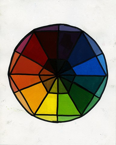 Color Wheel Study