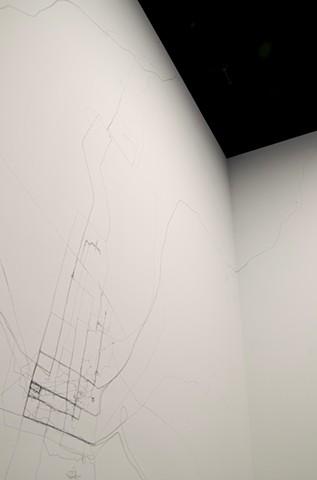 Tracing 6 (installation shot)