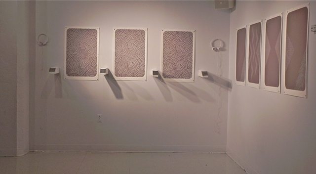 Installation View of Arm(w)rest Series