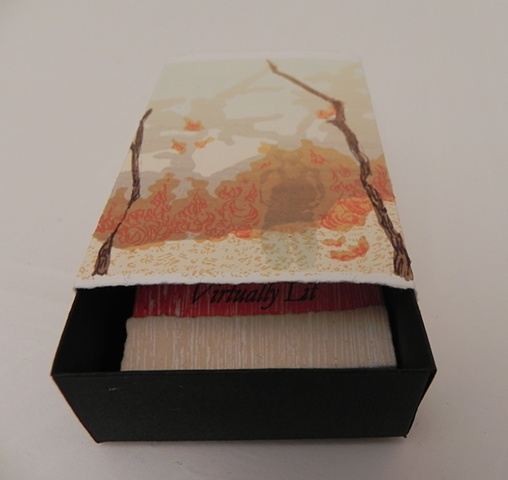 Virtually Lit  (Matchbox open to reveal Matchbook)