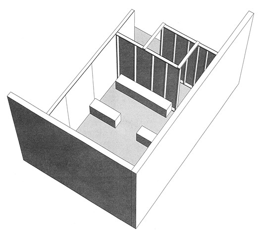 Technical Drawing of Projection Room