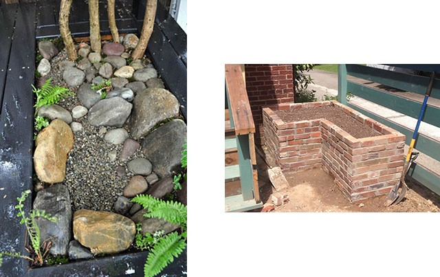 bona terra dc landscape design installation planters