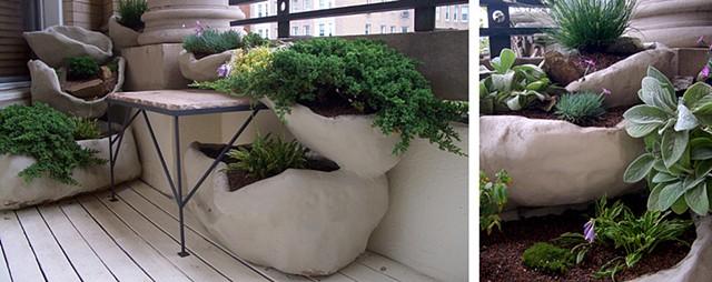 bona terra dc landscape design installation planters custom