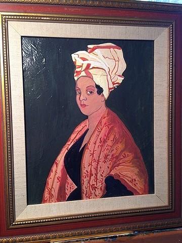 Replica of Marie Laveau portrait