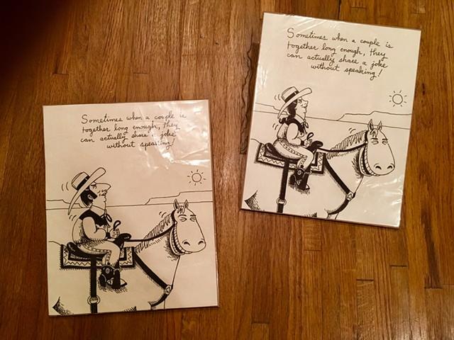 Horse Cartoons