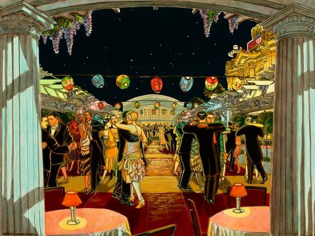 dancing, Hotel Utah, Jazz, 1920's
