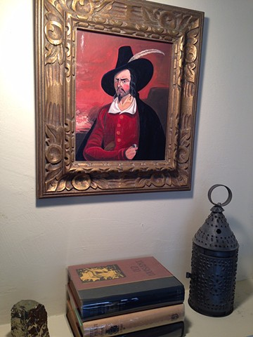 Replica of Jean Lafitte portrait