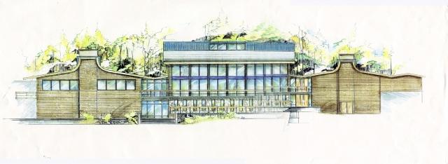Perkins Building, Riverside Country School, NY