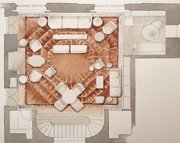Greenwich Village Apartment Floor Plan  New York City