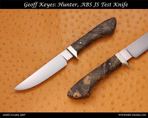 Buckeye burl Hunter