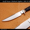 JS Test Knife, Flattop Fighter