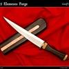 Fantasy takedown Dagger