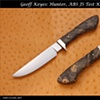 JS Test Knife, Hunter