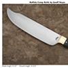 Buffalo Horn Camp Knife