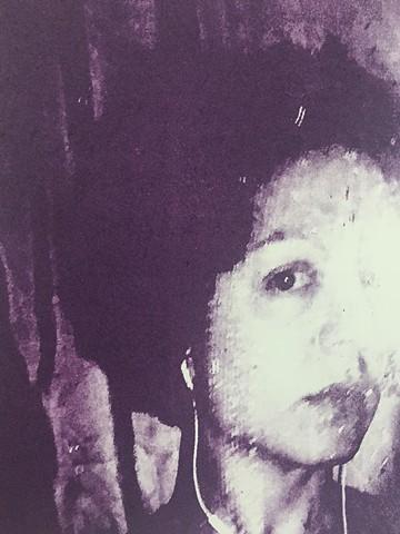 "Self portrait for Liz Maugans' ""The Artists Trust"" piece at MOCA Cleveland"