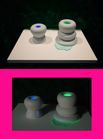 Light Tunnels (day and night view)