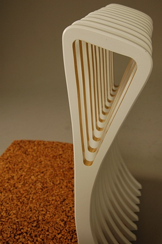 Cork Chair (detail)