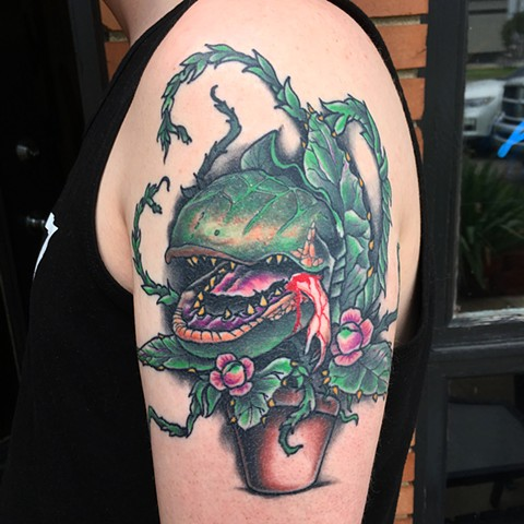 tattoo, little shop of horrors