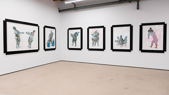 Installation view of Between Possibility and Actuality