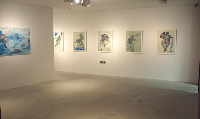 "View from "" The Stories I Tell Myself"", Gallery 1957, Accra, Ghana"