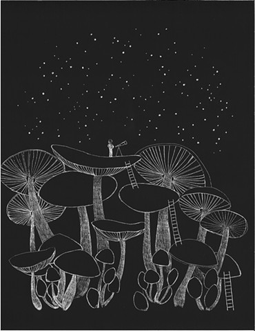 Mushroom Stargazer