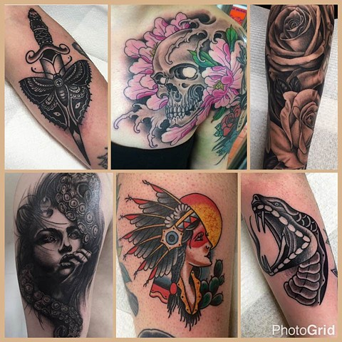 body language tattoos