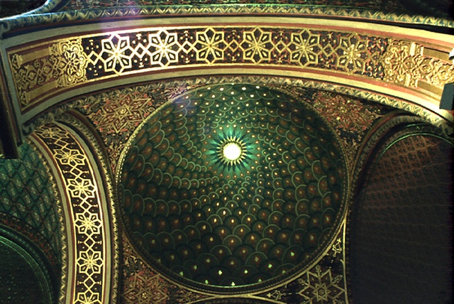 Ceiling Spanish Synagogue, Prague