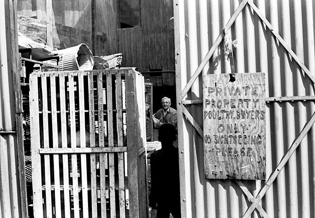 Poultry Buyers, Stepney Street Outdoor Market, East End, London