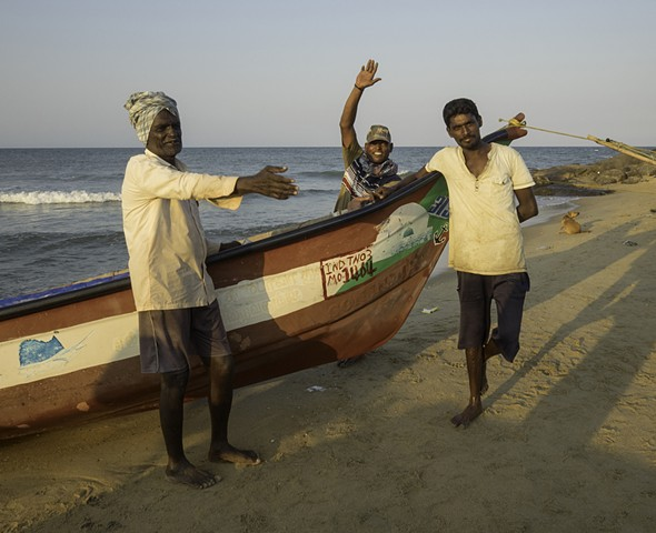Three Fishermen, Kovalam