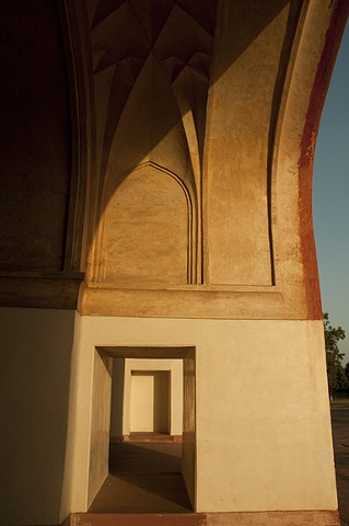 Doorways, Akbar's Tomb, Sikandra, India