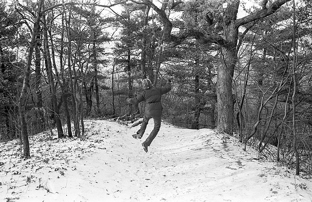 Jerri Jumping, Starved Rock State Park, IL
