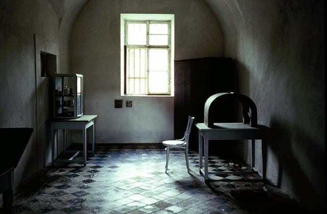 Examination Room, Terezin Concentration Camp, Czechoslovakia