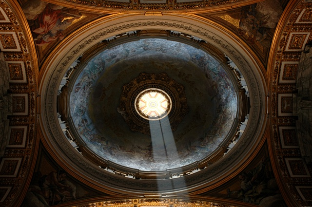 Light Dome, St. Peter's, Rome