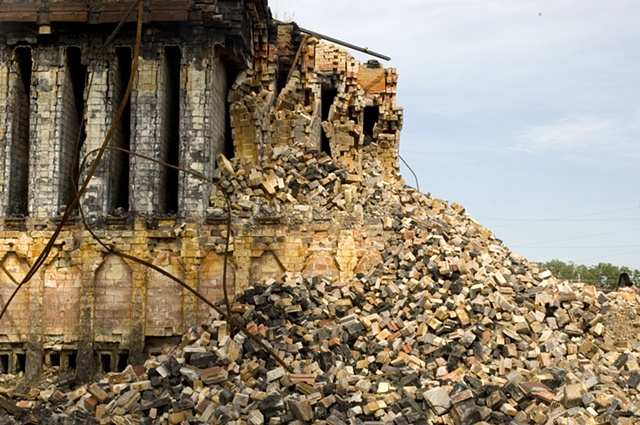 Side Rubble, Acme Steel and Coke Plant, Calumet, Chicago