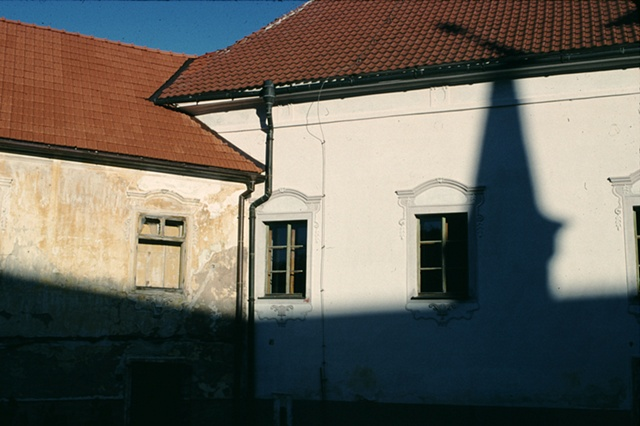 Shadow of Church, Roznberk, Czech Republic