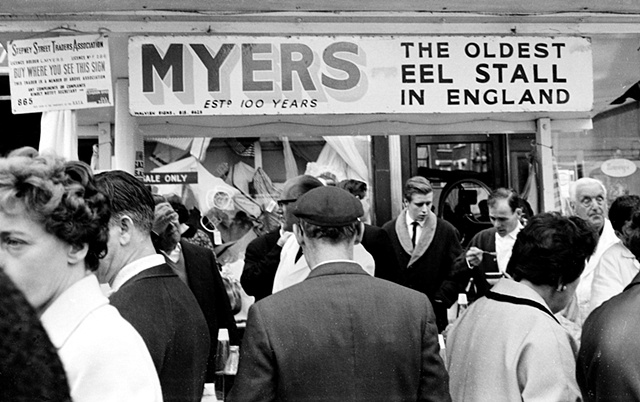 Myers Eel Stall, London