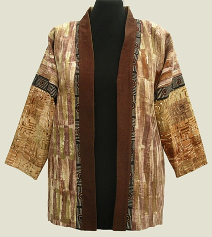 hand-printed jacket