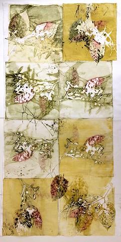 Leaf Print x 8