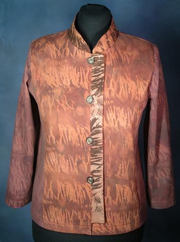 hand-dyed jacket