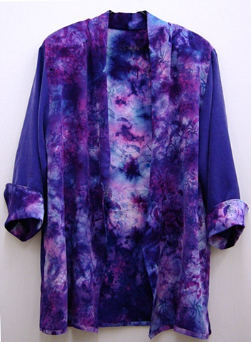 hand-dyed evening jacket